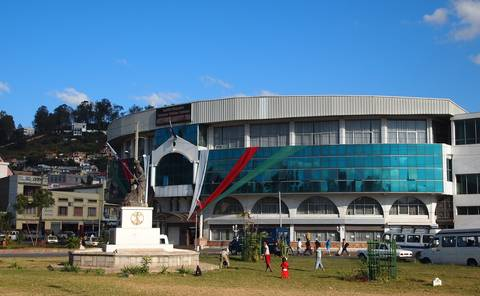 Senate building in Madagascar