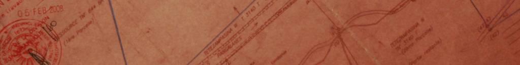 Land registry seal on land parcel plans.
