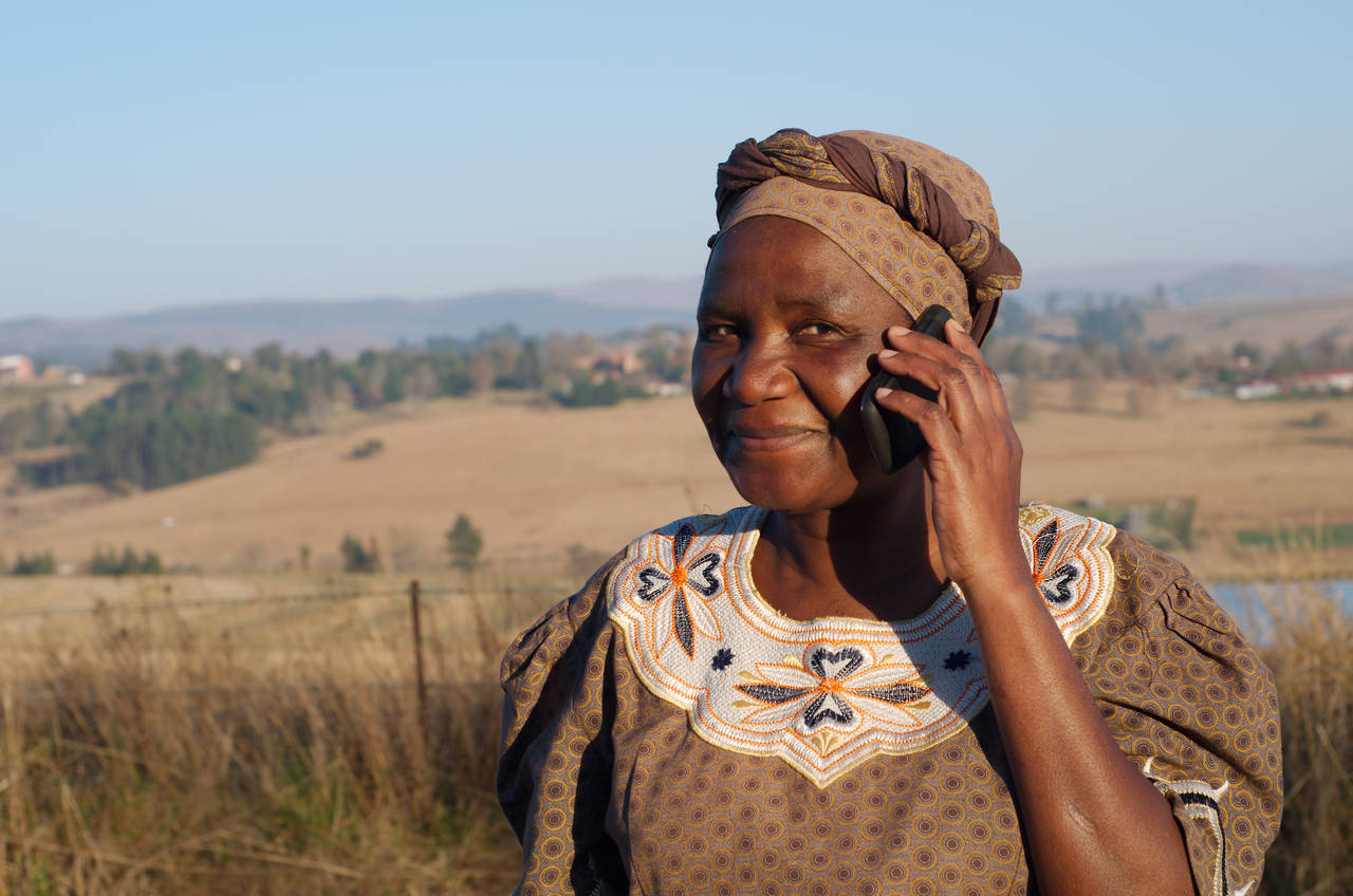Mobile phones are proving vital to rural development